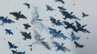Bird imagery for For Want of Water