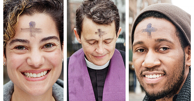 Ash Wednesday triptych
