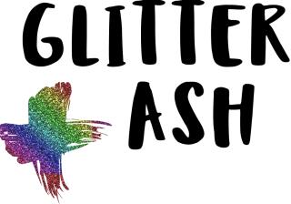 Glitter Ash logo