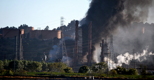 Chevron's Richmond refinery fire, 2012