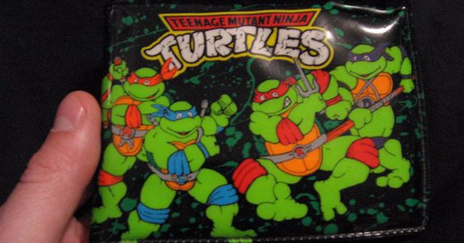 Teenage Mutant Ninja Turtle wallet