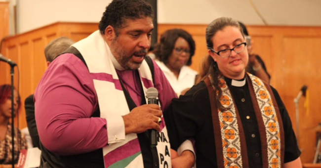 Rev. Dr. William J. Barber, II and Rev. Liz Theoharis