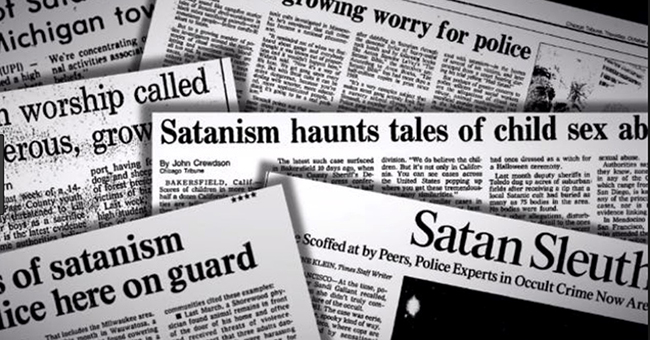 1980s headlines of child sex abuse