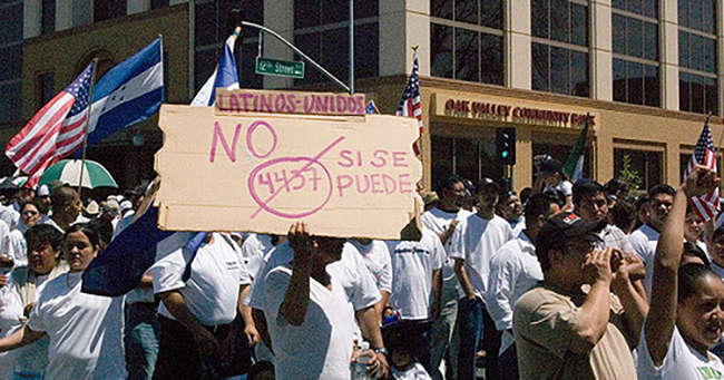 A Day without Immigrants, Modesto, CA, 2006