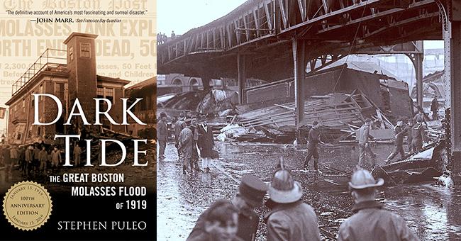 Dark Tide_Wreckage from the Boston Molasses Flood  1919