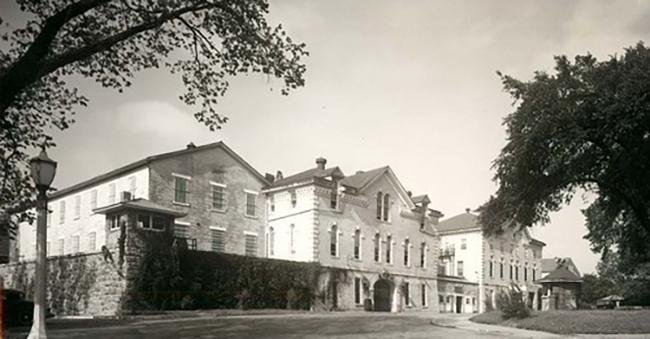 Military prison at Fort Leavenworth Kansas