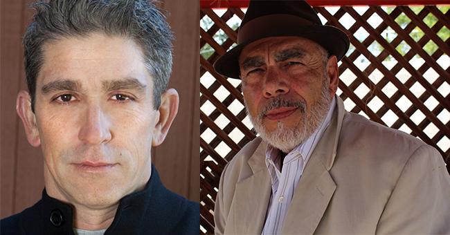 Richard Blanco and Jimmy Santiago Baca