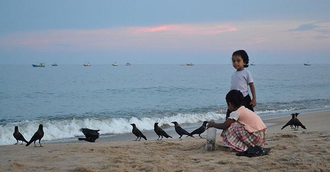 At Sainthamaruthu Beach, Eastern Sri Lanka, where the militants detonated themselves on the Easter Sunday Sri Lanka bombings.