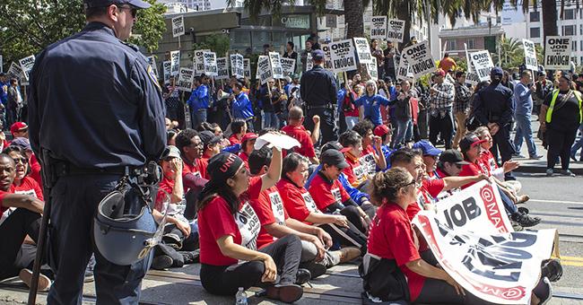 Labor Day Protest