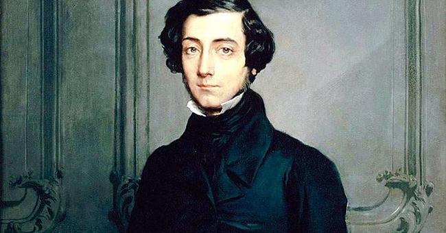 Portrait of Alexis de Tocqueville by Théodore Chassériau, 1850