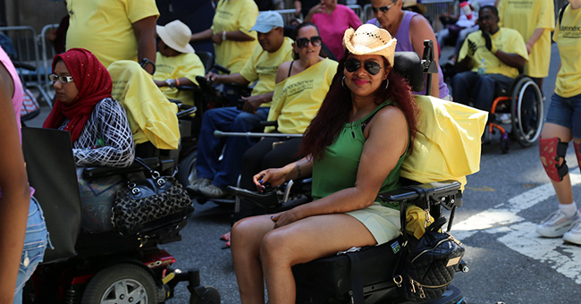 Third Annual NYC Disability Pride Parade. Photo credit: New York City Department of Transportation
