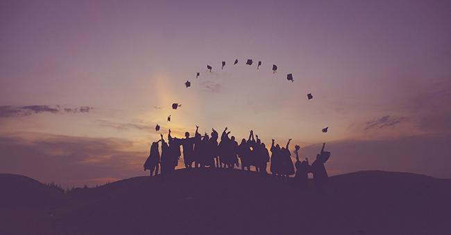 Graduates at dawn