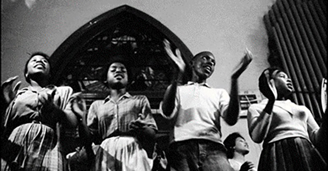 The Freedom Choir, featuring high school students in Selma in 1964, was just one example of the important role music played throughout the movement.